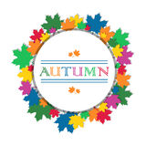 Autumn abstract background Royalty Free Stock Photo
