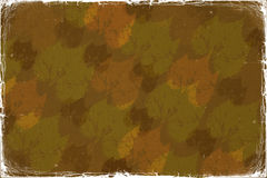 Autumn abstract grunge background Royalty Free Stock Photography