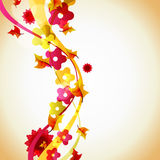 Autumn abstract illustration Royalty Free Stock Photo