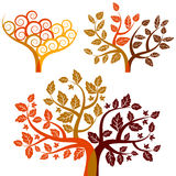 Autumn - abstract tree Royalty Free Stock Image