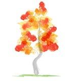 Autumn abstract tree. Illustration of autumn abstract tree stock illustration
