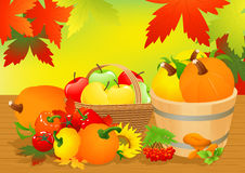 Autumn abundance Royalty Free Stock Photos