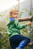 Autumn activities outside Royalty Free Stock Image