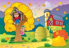Autumn activity theme 2 vector illustration