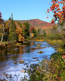Autumn Adirondack river Stock Images