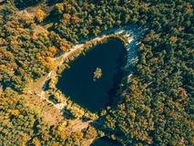 Free Autumn Aerial Drone Nature Landscape Stock Photos - 112525353
