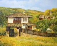 Autumn Afternoon in Bojenci Stock Photos