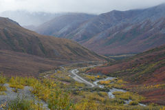 Autumn alaska Royalty Free Stock Photo
