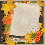 Autumn album cover Royalty Free Stock Photography
