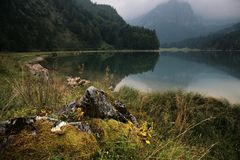 Autumn Alpine landscape Stock Images