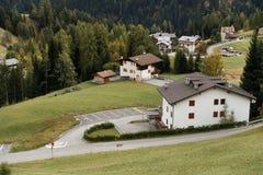 Autumn alpine landscape in the Dolomites Royalty Free Stock Image
