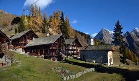 Autumn Alpine-landschap s Stock Afbeeldingen