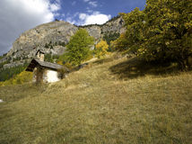 Autumn in Alps Royalty Free Stock Image