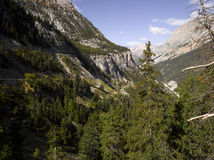 Autumn in Alps Royalty Free Stock Images
