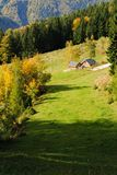 Autumn in the Alps no.1 Stock Image