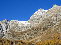 Autumn in the alps Royalty Free Stock Images
