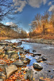 Autumn Appalachian Mountain Stream lizenzfreies stockfoto