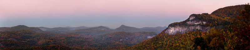 Autumn Appalachian Panorama Royalty Free Stock Images
