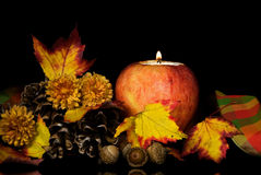 Autumn Apple Ambiance Stock Photos