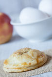 Autumn Apple Hand Pie With Eggs Vertical Royalty Free Stock Photos