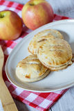 Autumn Apple Hand Pies Stock Image