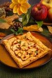 Autumn apple tart Stock Images