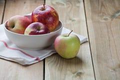 Autumn apples Stock Photo