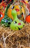Fun fall pumpkins Royalty Free Stock Photography