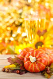 Autumn arrangement. Stock Photos