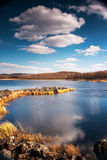Autumn at Arshan, China. China's Inner Mongolia aershan the autumn scenery Stock Images