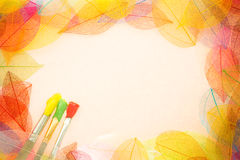 Autumn art background Stock Photo
