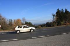 Autumn asphalt mountains road Stock Photos