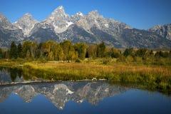 Free Autumn At Grand Teton National Park Royalty Free Stock Image - 127126706
