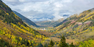 Autumn At Telluride Stock Photo