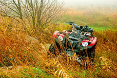 Autumn ATV Royalty Free Stock Image