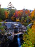 Autumn Auger Falls Royalty Free Stock Photography