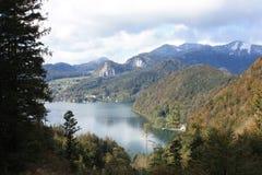 Autumn in Austria Stock Images