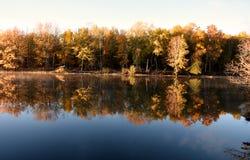 Autumn Automne färger Royaltyfri Fotografi