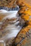 Autumn Autrain Falls Cascade stock image