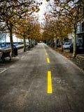 Autumn streets Royalty Free Stock Photo