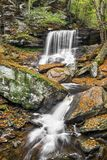 Autumn at B. Reynolds Falls Royalty Free Stock Image
