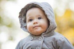 Autumn Baby Portrait Photo libre de droits