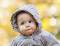 Autumn Baby Portrait Image libre de droits
