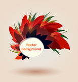 Autumn back. Autumn floral leaf golden abstract backgound Royalty Free Stock Photo