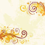 Autumn background stock illustration