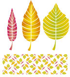 Autumn background. Vector illustration of autumn background Royalty Free Stock Photo