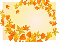 Autumn background. Vector illustration. Eps 10 Royalty Free Stock Photo