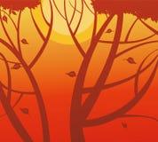 Autumn Background Royalty-vrije Stock Fotografie