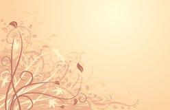 Autumn background. Vector Grunge Floral Background. Autumn illustration Royalty Free Stock Image