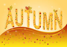 Autumn_Background Royalty Free Stock Images
